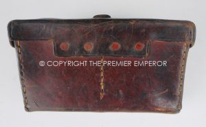 Japan: World War Two Army Ammunition pouch/cartouche. Circa.1941-45