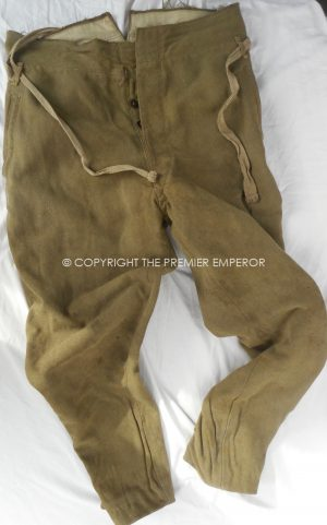 Japan: World War Two Army breeches. Circa.1941-45