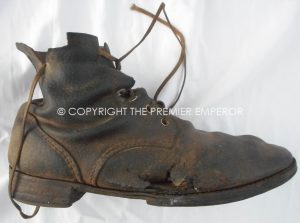 Japan: Pair of World War Two Army Enlisted mans boots.(Scarce) Circa.1941-45