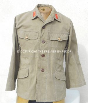 Japan: World War Two Lightweight Marine tunic. Circa.1941-45