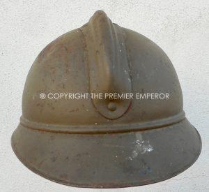 Belgium: Scarce M26 Steel helmet (Adrian style)Circa.1930's/1940