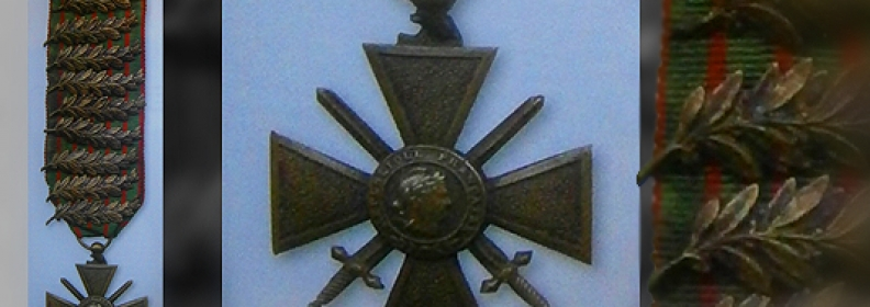 Collecting the French Croix de Guerre